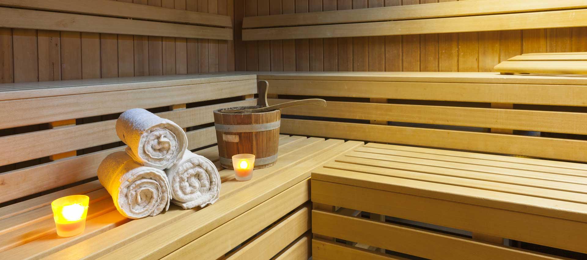 Bio Sauna mit Farbwechsel